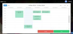 vytein synced calendar