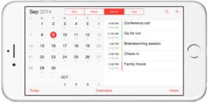 Default-calendar-on-iPhone