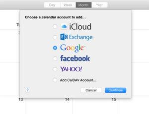 Default-calendar-on-mac-Add-preferred-account