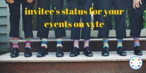 invitee's status for your eventson vyte (1)