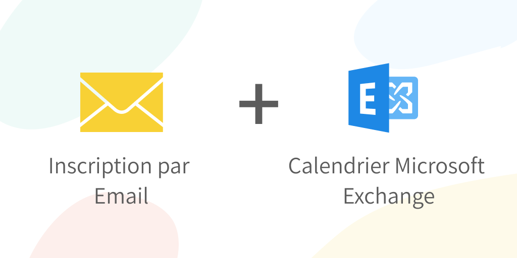 Inscription par Email et connection avec calendrier Exchange